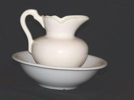 Ceramic McCoy 7516 USA Washbowl and Pitcher AA18-1344 Vintage image 2