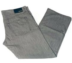 Authentic Armani Collezioni Men's Tan Brown Denim Jeans Pants -Size: 38 - $128.67