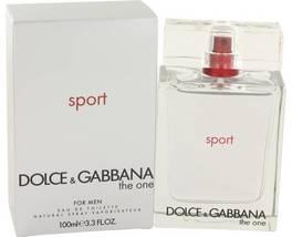 Dolce & Gabbana The One Sport Cologne 3.3 Oz Eau De Toilette Spray  image 3