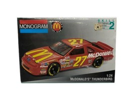 Monogram McDonald's Thunderbird #27 Model Car 1:24 NASCAR 1993 - $24.99