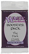 magic the gathering booster pack the dark - $150.00