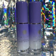 TWO Tatcha Travel (12mL) Luminous Dewy Skin Mist Set Refresh Makeup Rehydrate
