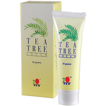 4 TUBES DXN TEA TREE CREAM 30g - SOOTHING SKIN  For Skin Acne Treatment - $56.32
