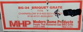 Modern Home Products BG34 Replacement Briquet Grate Color Gray image 2