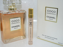 AUTHENTIC! Chanel Coco Mademoiselle Intense EDP 10ML Glass Travel Spray - $23.00