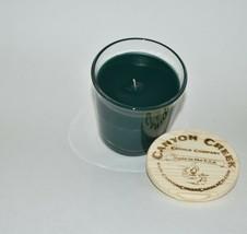 NEW Canyon Creek Candle Company 8oz tumbler HOLIDAY WREATH jar Handmade! - $36.94