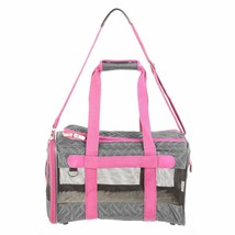Sherpa Original Deluxe Pet Carrier in Gray & Pink by Sherpa - $46.74