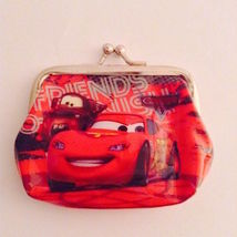 Cute Disney CARS Children's Coin Purse— More Fun Character Coin Purses Too!