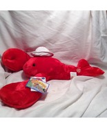 NEW Herrington 'Maine the Lobster' American Travel Collection Stuffed Toy - $39.60