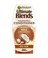 Garnier Ultimate Blends Coconut Milk Dry Hair Conditioner 360ml - $12.62