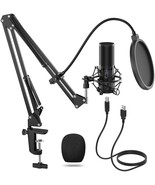 Microphone Kit, Streaming Podcast PC Condenser Computer Mic for Gaming, ... - $99.99
