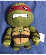 """Raphael Talking 5"""" Plush Keychain Teenage Mutant Ninja Turtles 2014 Nick... - $4.45"""