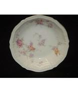 "Helene by Haviland 5"" Fruit Dessert Sauce Bowl Yellow & Pink Roses New Y... - $8.90"