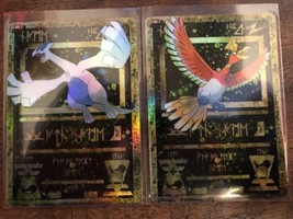 ANCIENT POKEMON CARD SET RARE LUGIA HO OH HO-OH GX EX MEGA CUSTOM ORICA - $9.97