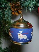 "Hallmark Keepsake Musical Ornament ""FIRST CHRISTMAS TOGETHER"" 1984 LARA'... - $2.99"