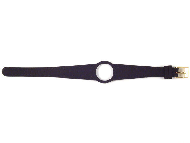 Ladies Watch Strap Band For OMEGA DYNAMIC Leather Replacement Silver Buckle S17 - $19.13 - $22.96