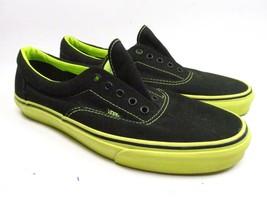 VANS Off the Wall  Mens 12 Fashion Athletic SB Sneaker Black Green No St... - $23.76