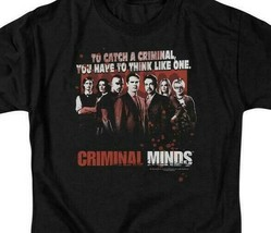 Criminal Minds cast t-shirt To catch a criminal TV series graphic tee CBS1226 image 2