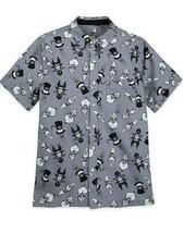 NEW Disney Parks 2020 Villains Button Down Woven Men's Shirt Medium NWT - $39.95