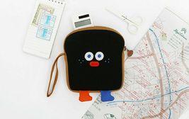 Brunch Brother Run Toast Bag Pouch Pencil Case Handbag Organizer (Burnt Toast) image 3