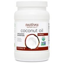 Nutiva, Organic Coconut Oil, Virgin, 15 fl oz (444 ml) - $19.00
