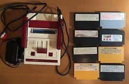 Nintendo Famicom AV Console System Bundle Japan Import Complete - $98.01
