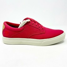 Timberland Earthkeepers EK 2.0 Cupsole Red Canvas Mens Sneakers 5060R - $69.95