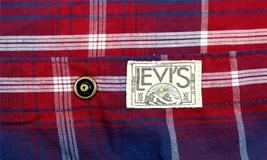 NEW NWT LEVI'S MEN'S LONG SLEEVE BUTTON UP CASUAL DRESS SHIRT RED 3LYLW0042 image 5
