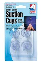 """Adams Manufacturing 7500-77-3040 1 1/8"""" Suction Cups, Small, 4 Pack image 2"""