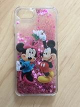 Disney Minnie Mouse Liquid Glitter Quicksand Case For iPhone 6/6s Plus - $13.99