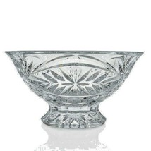 """Waterford Crystal Tracy 10"""" Fan Flat & Wedge Cut Footed Bowl New - $130.43"""