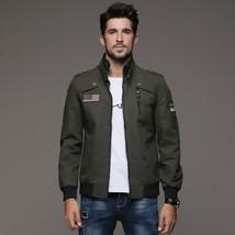 New Men's Jacket Korean Slim-fit Men's Clothing Men's Windbreakers Desig... - $83.44