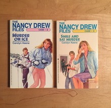 1980s Nancy Drew Files Mystery Books by Carolyn Keene image 3