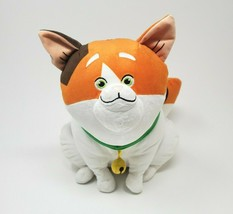 DISNEY STORE BIG HERO 6 MOCHI CALICO CAT WHITE ORANGE STUFFED ANIMAL PLU... - $36.47
