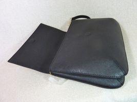 NWT Tory Burch Black Robinson Saffiano Combo Messenger Cross Body Bag image 8
