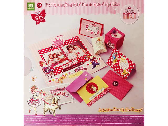Making Memories Fancy Nancy Posh Papercrafting Pad #37374