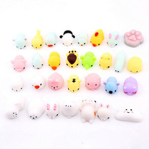 10pcs Cute Squishy Mini Animal Soft Silicone Toys Fidget Hand Squeeze Pinch Toy - $1.89+