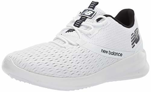 Balance Men's District Run V1 CUSH + Sneaker, white, 9 Medium US