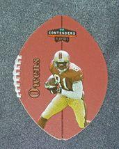 San Francisco 49er's Terrell Owens #81 WR Football Trading Cards AA-191804 Vinta image 5