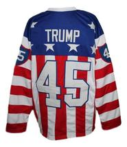 Any Name Number Rochester Americans Retro Hockey Jersey Trump #45 New Any Size image 5