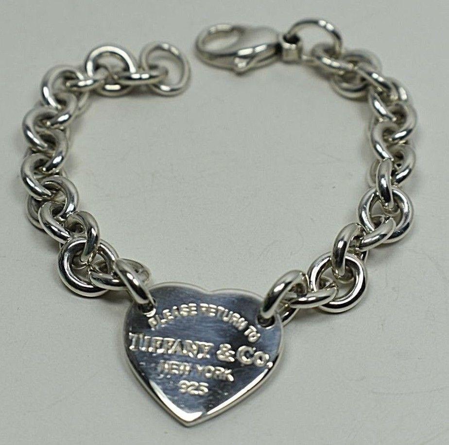 fa5ff7a6b11f1 Return To Tiffany Heart Tag Charm Link and 37 similar items