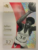 2012-13 Fleer Retro Julius Erving EX Credentials EX-24 - $98.99