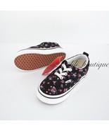 No Box Vans Toddler Era Elastic Lace Shoes Canvas Ditsy Floral Multi Siz... - $34.95