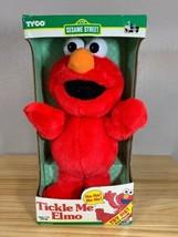 Tyco Original Sesame Street Tickle Me Elmo Doll New in Box 1996 Vintage - $148.49