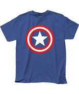 Official Marvel Comics Captain America Logo Shield T-shirt S M L XL 2XL ... - £11.30 GBP+
