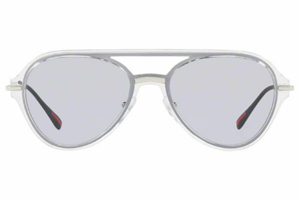Prada Linea Rossa Spectrum Evolution PS04TS SQK3F2 57MM Crystal/lilac Sunglasses