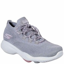 Skechers Women's GO Walk Revolution Ultra Vent Walking Silver/Pink 7 B(M) US - $49.49
