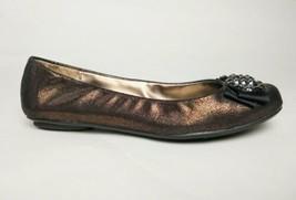 Ann Taylor Loft Copper Brown Ballet Flats Women's 6.5 - $4.95