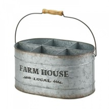 Galvanized Metal Wine Bucket - €30,19 EUR