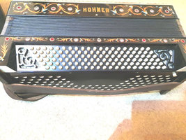 hohner accordion full size made in germany with no jewels missing image 2